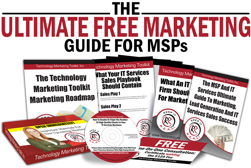 The Ultimate Free Marketing Guide For MSPs | Technology Marketing Toolkit | Robin Robins