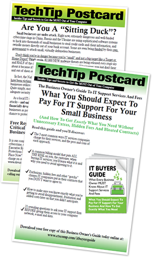 Tech Tip Postcard