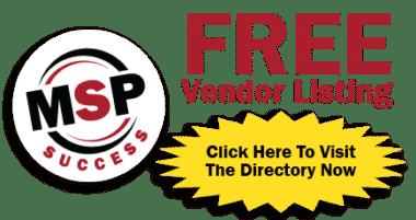 FREE Vendor Listing | MSP Success